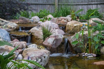 landscape water feature